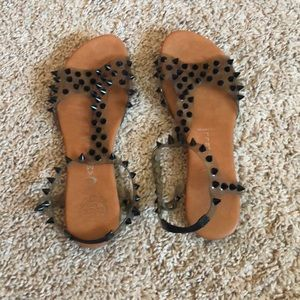 Jeffrey Campbell clear sandals
